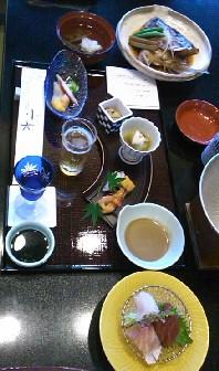 前菜・酢の物・御椀・造里・煮物