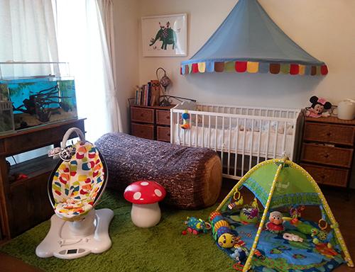 かわいい子供部屋