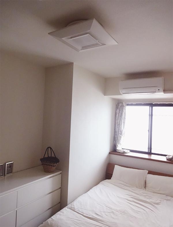 寝室の間接照明