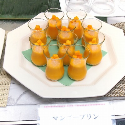 08マンゴープリン01@東京ベイ舞浜ホテル FINE TERRACE 2014年07月