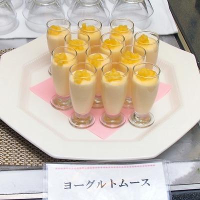 09ヨーグルトムース01@東京ベイ舞浜ホテル FINE TERRACE 2014年07月