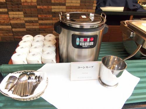 24コーンスープ01@東京ベイ舞浜ホテル FINE TERRACE 2014年07月