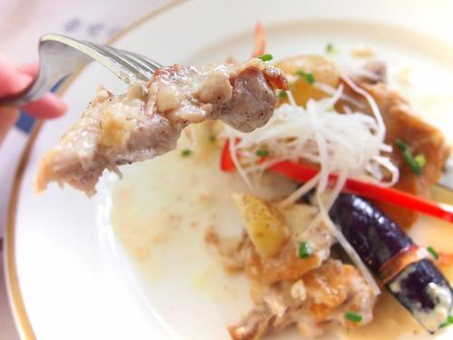 チキンのグリル 焼き野菜添え 2色ソース03@Bakery Restaurant Saint Marc 2014年07月23日