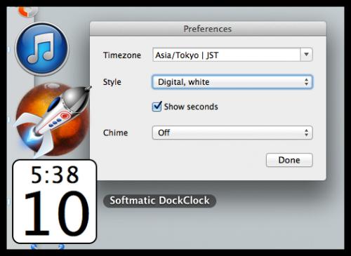 Softmatic_DockClock