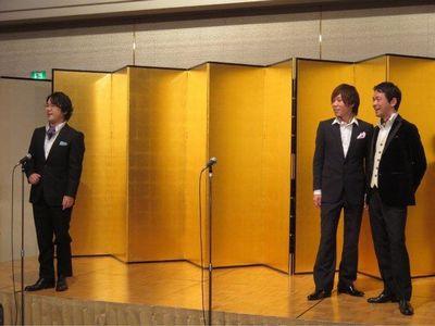 オーソレミーオを歌う男3人