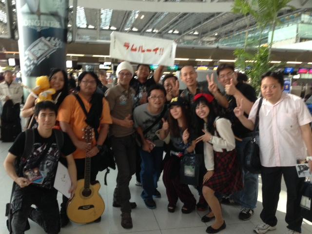 タイでの空港写真