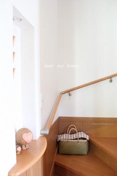 階段に。。