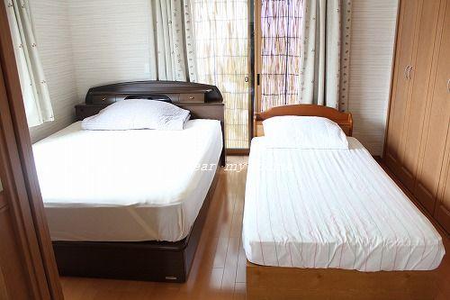 ベッド。。夏仕様