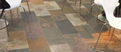Stone Veneer Flooring.-2