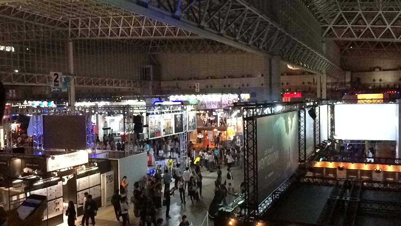 TOKYOゲームショウ2014入口