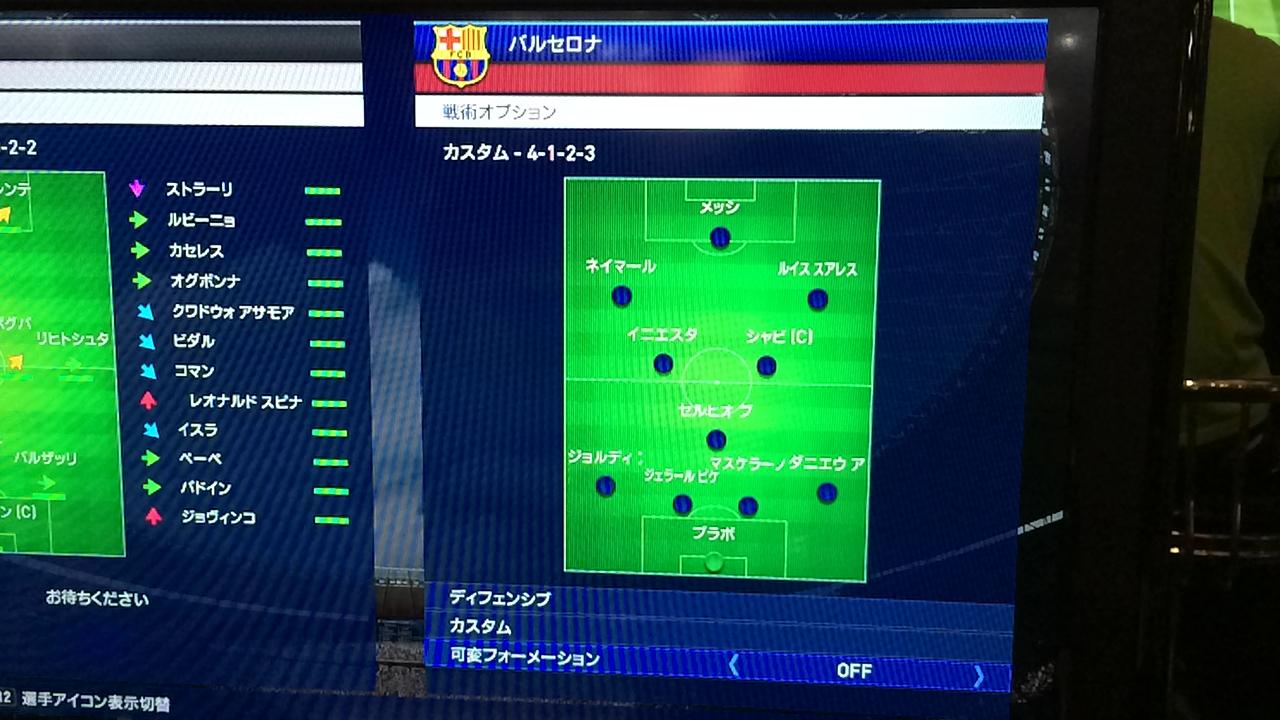 TOKYOゲームショウ2014KONAMIウイイレ2015監督モード1