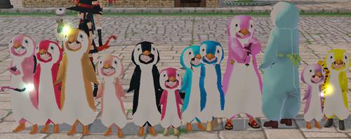 戦隊 ペンギン 8