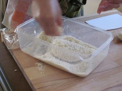 パン粉つけ