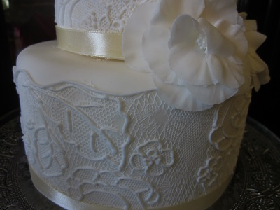 アイシングのケーキ