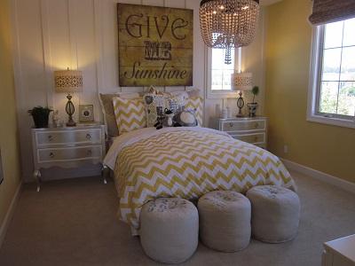 女の子用ベッドルーム1