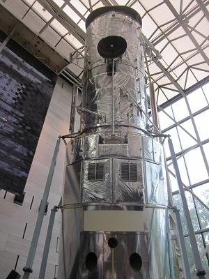 ハップル宇宙望遠鏡実物大テスト機