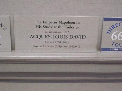 書斎のナポレオン3