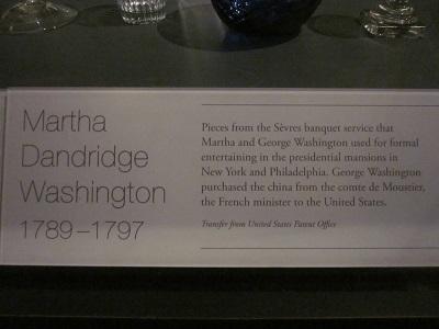 初代ジョージ・ワシントン妻1