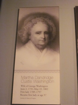 初代ジョージ・ワシントン妻2
