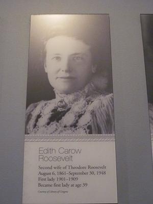 26代セオドア・ルーズベルト妻2