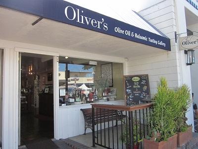 オリーブオイルの店