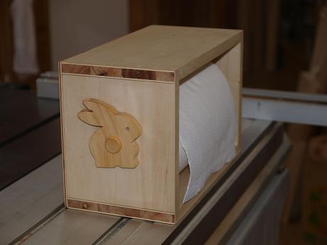 左サイドウサギ