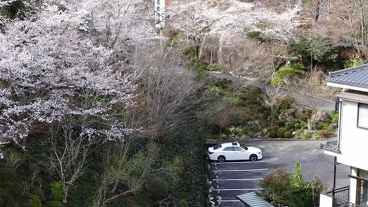 了山駐車場