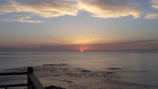 望洋楼 夕日