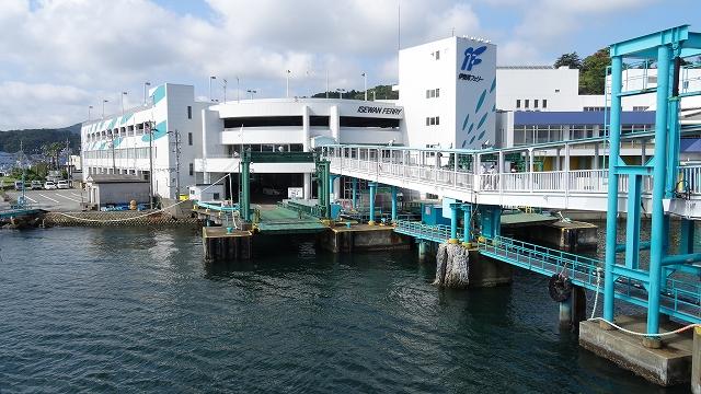 フェリー鳥羽港