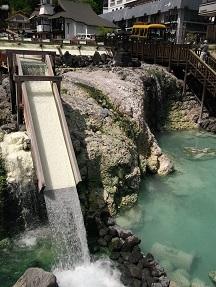 湯畑湯滝2014.5