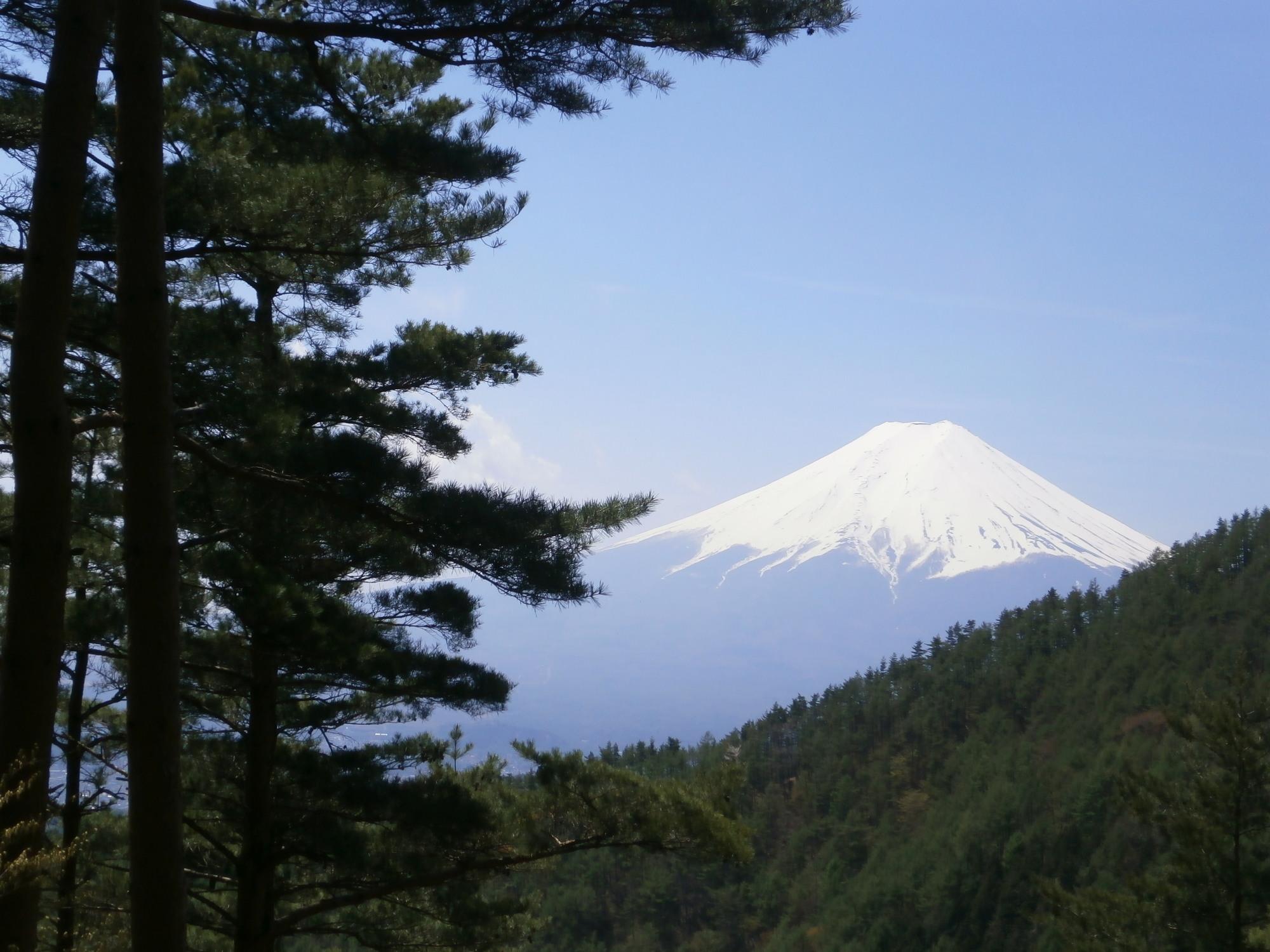 富士山途中