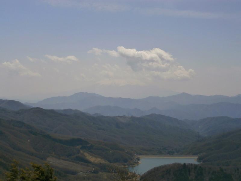 雷岩より富士山
