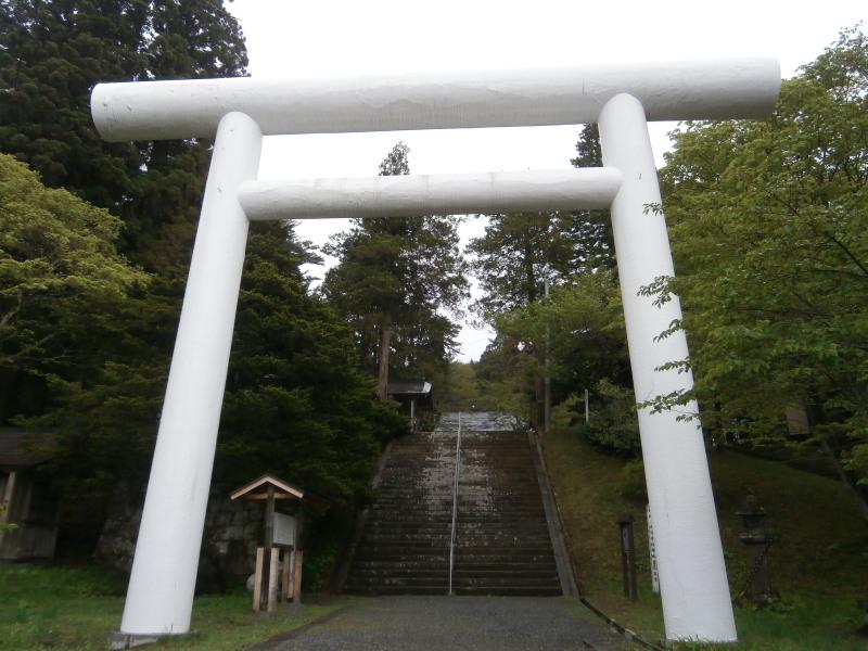 土津神社鳥居