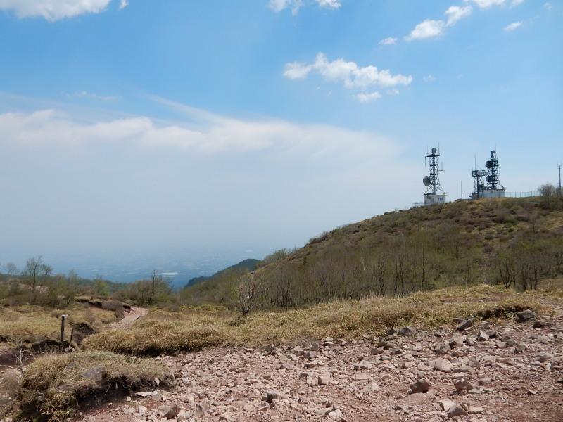 地蔵岳山頂眺め