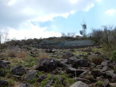地蔵岳登山道3