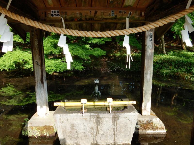 赤城神社手水舎