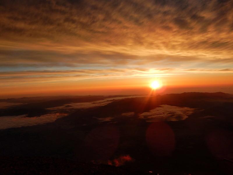 富士山御来光3