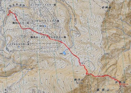 高原山軌跡