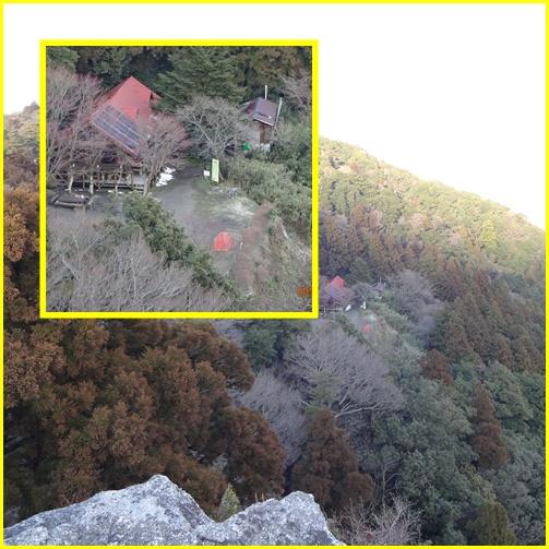 012 山頂よりキャンプ場
