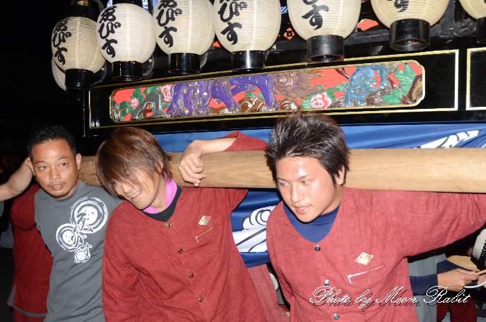 えびす会だんじり(ゑびす会屋台) 東予祭り統一運行2013 壬生川駅前通り