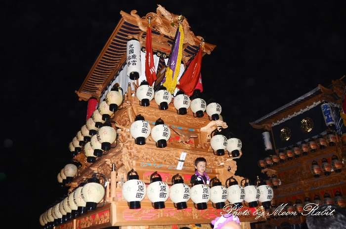 川原町だんじり(屋台) 西条祭り2013 楢本神社祭礼
