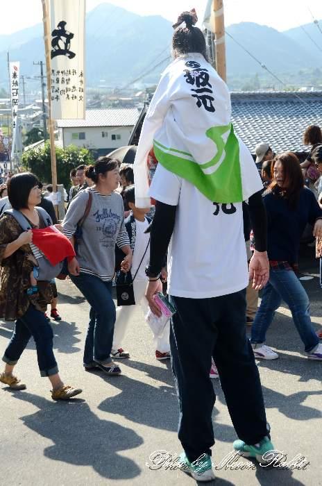 坂元だんじり(屋台) 法被 祭り装束 石岡神社祭礼