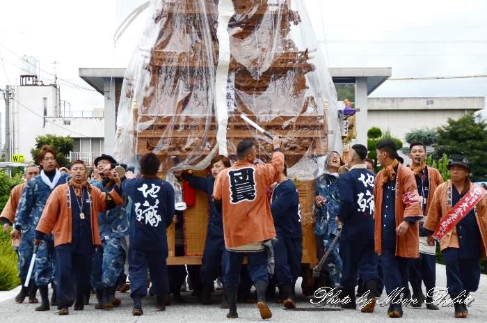 地蔵原だんじり(屋台) 法被 祭り装束 西条祭り2013 伊曽乃神社
