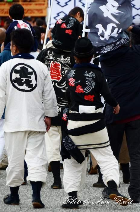 喜多町だんじり(屋台) 法被・ダボシャツ・ダボズボン 祭り装束 西条祭り2013 伊曽乃神社