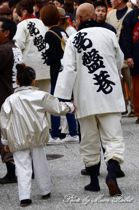 常盤巷だんじり(屋台) 法被 祭り装束 西条祭り2013 伊曽乃神社