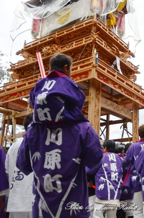 川原町だんじり(屋台) 法被 祭り装束 西条祭り2013 伊曽乃神社