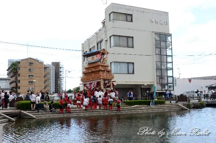 古川屋台(だんじり) 新町泉 西条祭り2013