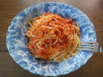 信吾料理パスタ2