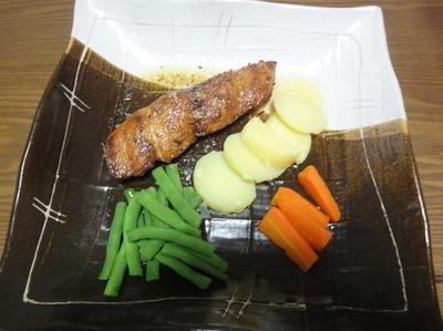 信吾料理マヒマヒ1