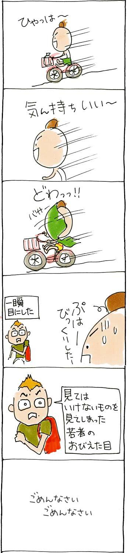 自転車ひゃっほー!